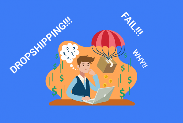 what no one tells you about dropshipping blog post cover