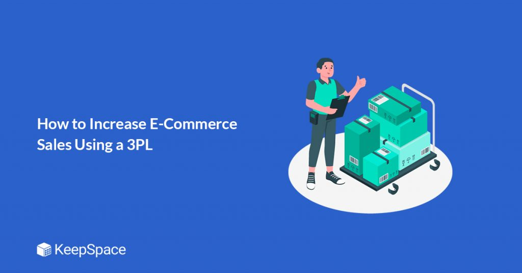 banner of how to increase e-commerce sales using a 3pl