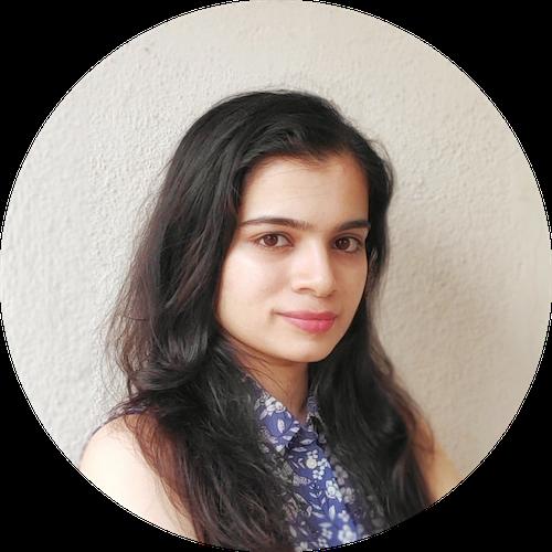 Profile of Maitreyi Srinivansan, our UX Designer